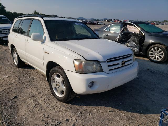 Salvage cars for sale from Copart Madisonville, TN: 2005 Toyota Highlander