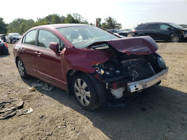 Salvage cars for sale from Copart Baltimore, MD: 2009 Honda Civic LX