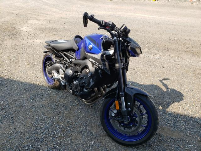Salvage cars for sale from Copart Helena, MT: 2019 Yamaha MT09