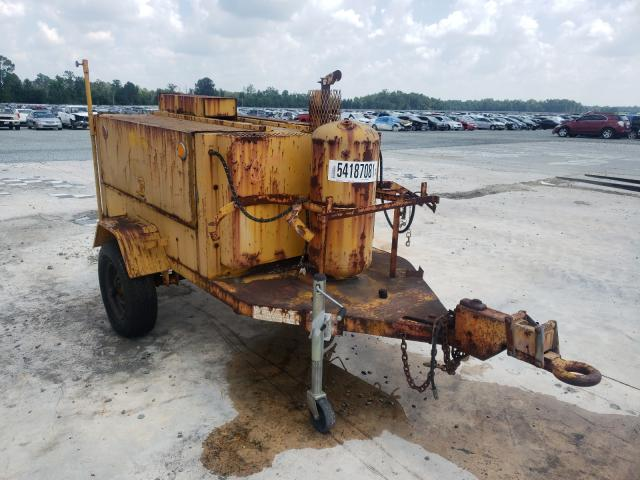 Salvage cars for sale from Copart Lumberton, NC: 1991 Pelsue Pump