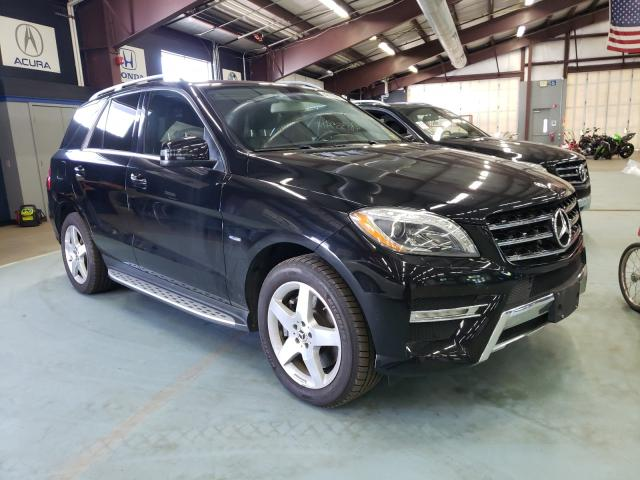 Salvage cars for sale at East Granby, CT auction: 2012 Mercedes-Benz ML 550 4matic