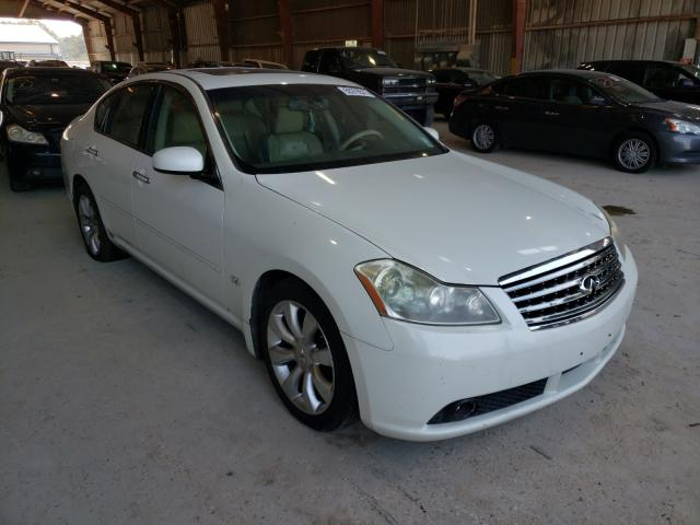 Salvage cars for sale from Copart Greenwell Springs, LA: 2007 Infiniti M35 Base