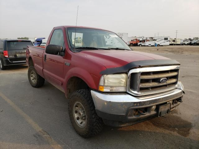 Salvage cars for sale at Nampa, ID auction: 2002 Ford F350 SRW S