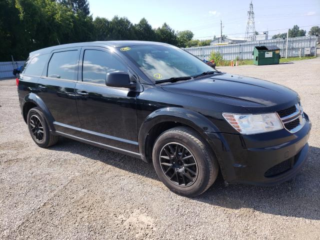 Salvage cars for sale from Copart Ontario Auction, ON: 2015 Dodge Journey SE