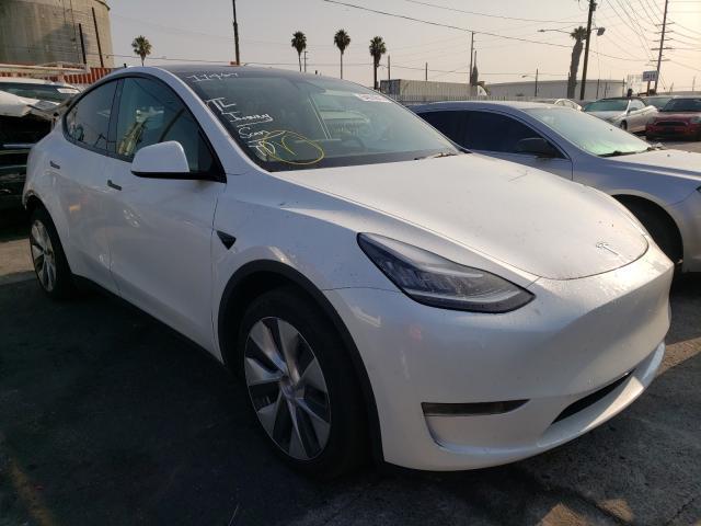 Tesla salvage cars for sale: 2021 Tesla Model Y