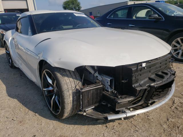 Salvage cars for sale from Copart Duryea, PA: 2021 Toyota Supra Base