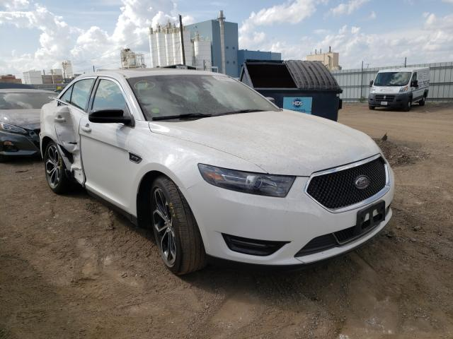 Salvage cars for sale from Copart Chicago Heights, IL: 2015 Ford Taurus SHO