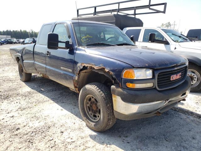 Vehiculos salvage en venta de Copart Leroy, NY: 2001 GMC Sierra K25