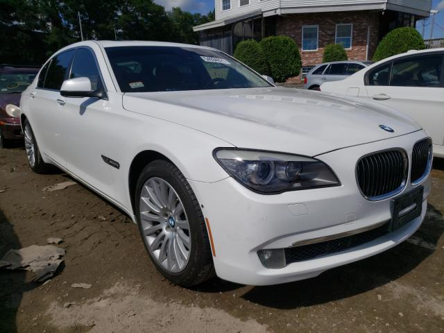 Salvage cars for sale from Copart Billerica, MA: 2012 BMW 750
