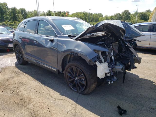 Salvage cars for sale at East Granby, CT auction: 2021 Mazda CX-9 Grand Touring