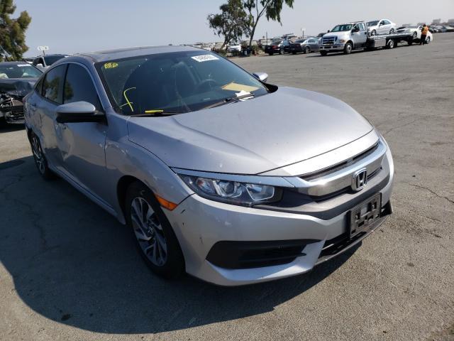Vehiculos salvage en venta de Copart Martinez, CA: 2018 Honda Civic EX