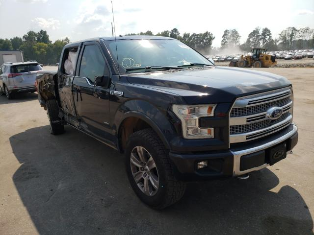 Salvage trucks for sale at Dunn, NC auction: 2015 Ford F150 Super