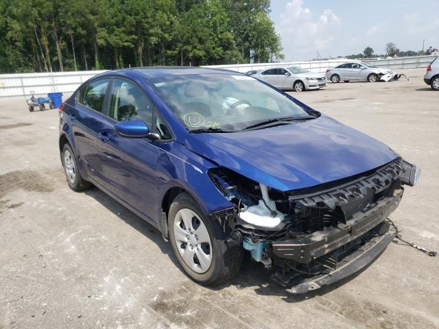 KIA Forte salvage cars for sale: 2018 KIA Forte