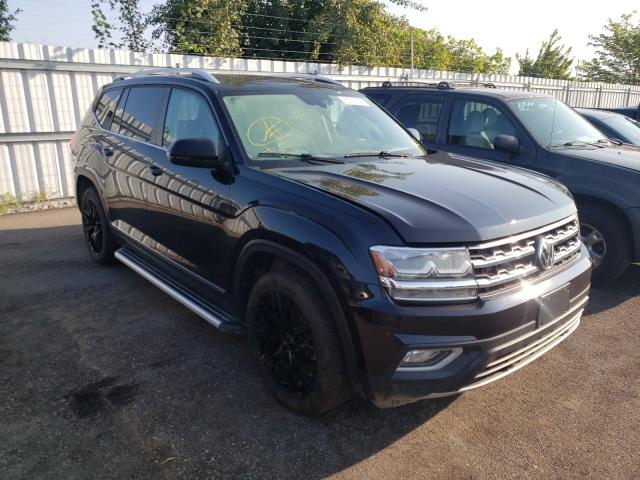 Salvage cars for sale at Bowmanville, ON auction: 2018 Volkswagen Atlas SEL