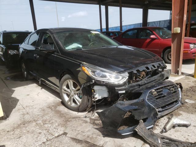 Hyundai salvage cars for sale: 2018 Hyundai Sonata Sport