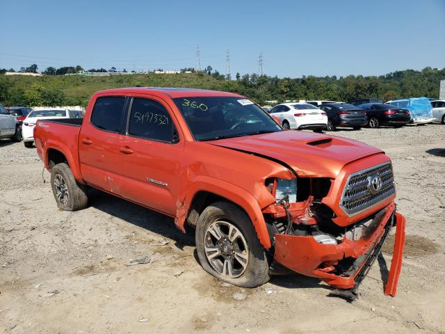 Salvage cars for sale from Copart West Mifflin, PA: 2016 Toyota Tacoma DOU
