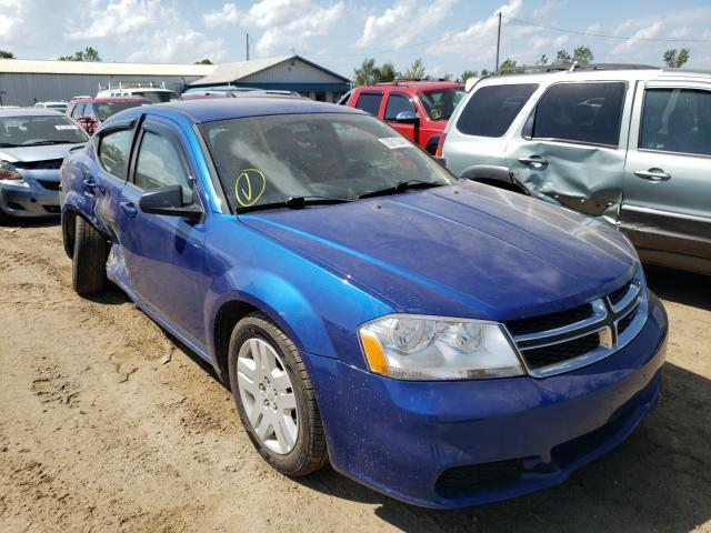 Salvage cars for sale from Copart Pekin, IL: 2013 Dodge Avenger SE
