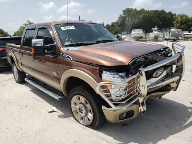 Ford salvage cars for sale: 2012 Ford F350 Super