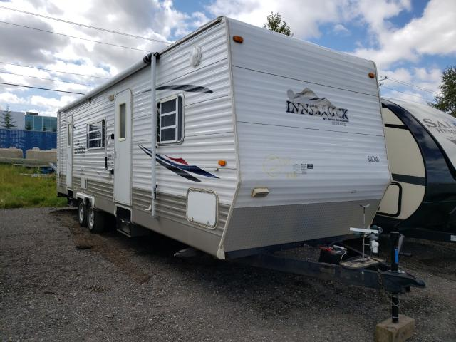 Salvage cars for sale from Copart Rocky View County, AB: 2008 Gulf Stream Innsbruck