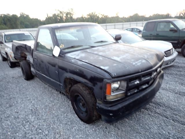 Vehiculos salvage en venta de Copart Spartanburg, SC: 1991 Chevrolet GMT-400 C1