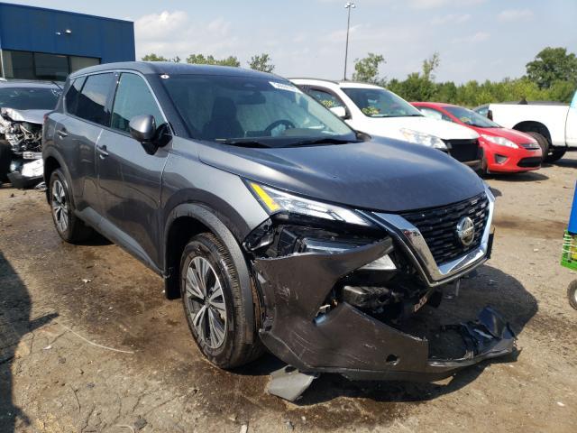 Nissan Vehiculos salvage en venta: 2021 Nissan Rogue SV