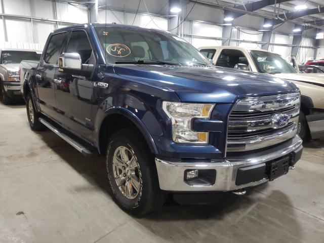 Salvage trucks for sale at Ham Lake, MN auction: 2015 Ford F150 Super