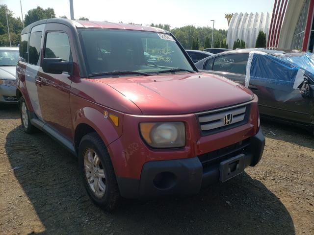 Vehiculos salvage en venta de Copart East Granby, CT: 2007 Honda Element EX