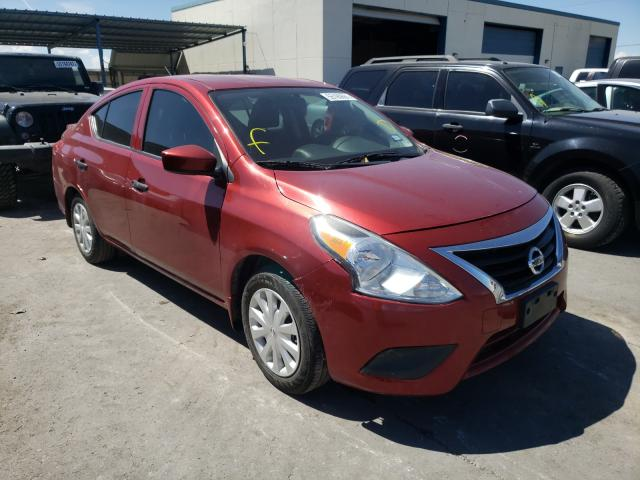 Salvage cars for sale from Copart Anthony, TX: 2018 Nissan Versa S