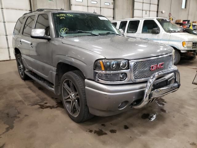 Salvage cars for sale from Copart Blaine, MN: 2005 GMC Yukon Dena