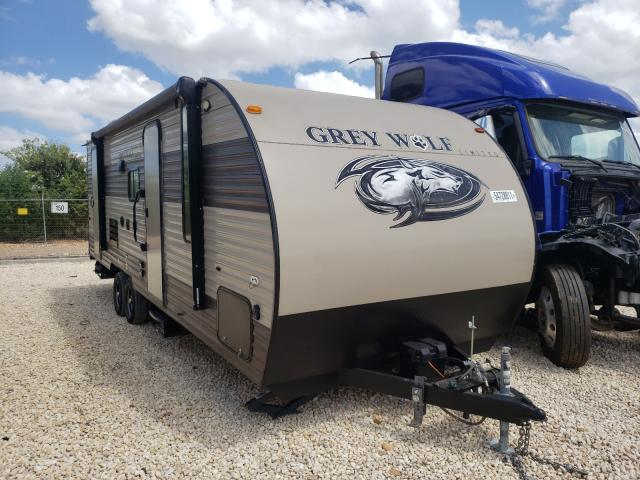 Wildwood Grey Wolf salvage cars for sale: 2017 Wildwood Grey Wolf