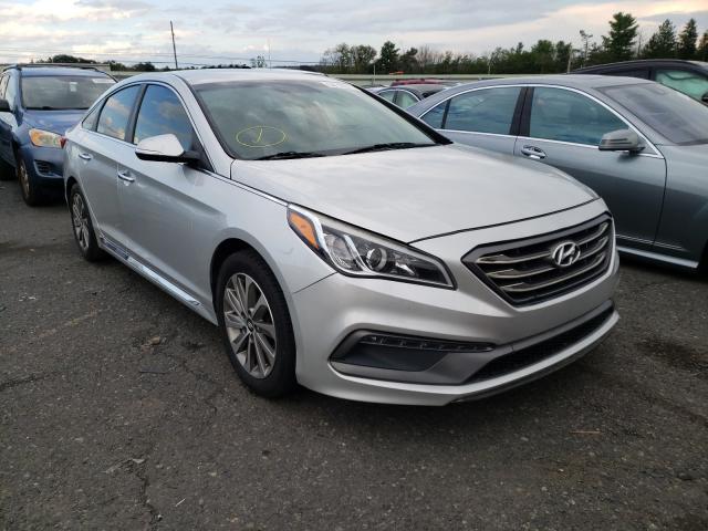 Vehiculos salvage en venta de Copart Pennsburg, PA: 2015 Hyundai Sonata Sport