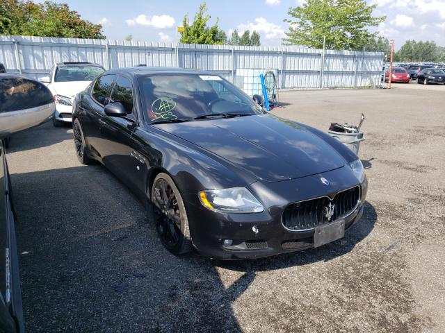 Salvage cars for sale at Bowmanville, ON auction: 2013 Maserati Quattropor