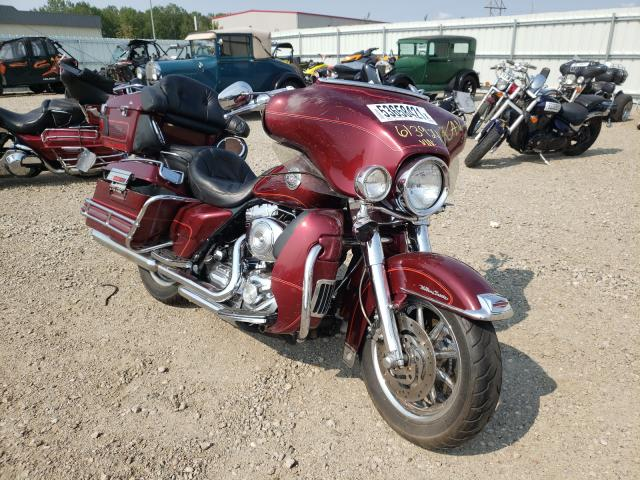 Salvage cars for sale from Copart Bismarck, ND: 2000 Harley-Davidson Flhtcui