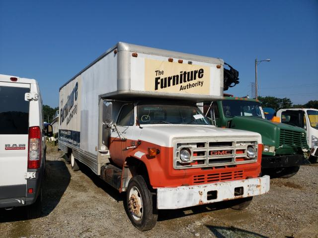 GMC salvage cars for sale: 1988 GMC C6000 C6D0