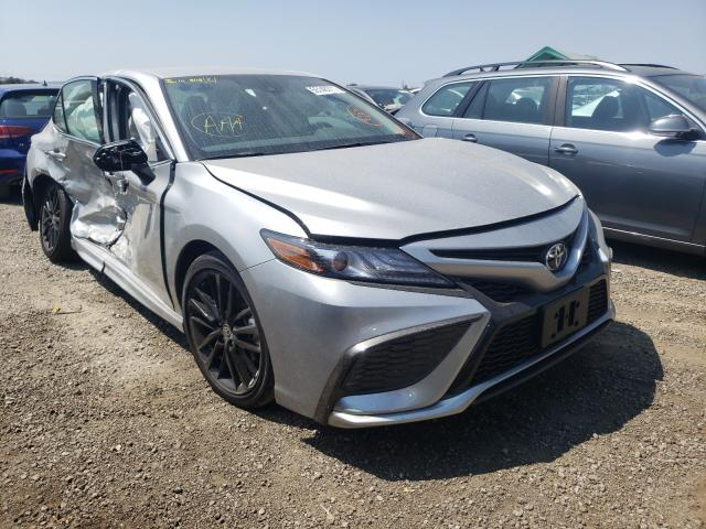 Salvage cars for sale from Copart San Martin, CA: 2021 Toyota Camry XSE