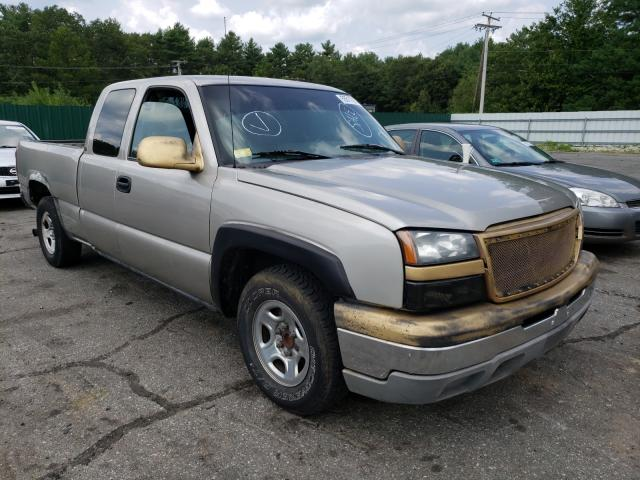 Salvage cars for sale from Copart Exeter, RI: 2003 Chevrolet Silverado