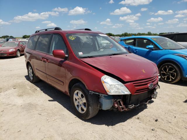 KIA salvage cars for sale: 2009 KIA Sedona EX