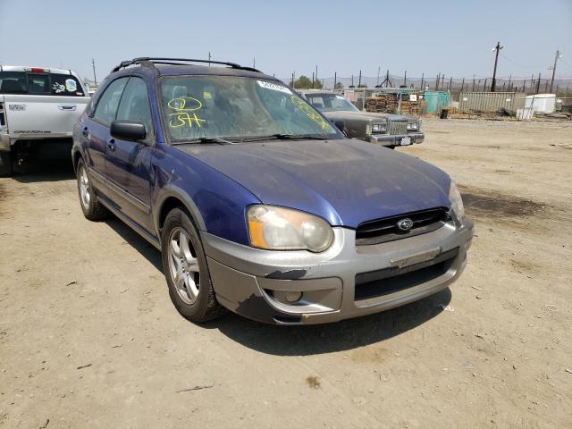 Salvage cars for sale from Copart San Martin, CA: 2004 Subaru Impreza OU