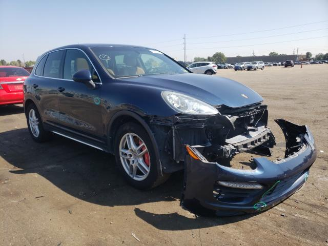 Salvage cars for sale from Copart Denver, CO: 2013 Porsche Cayenne TU