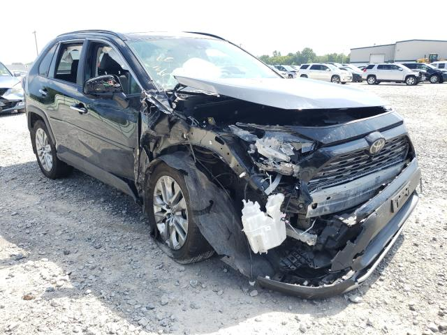 Salvage cars for sale from Copart Leroy, NY: 2019 Toyota Rav4 Limited