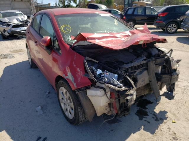 Salvage cars for sale from Copart Corpus Christi, TX: 2014 KIA Rio LX