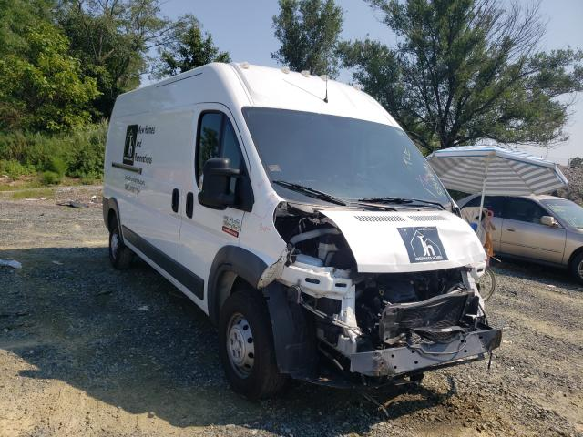 Salvage cars for sale from Copart Baltimore, MD: 2018 Dodge RAM Promaster