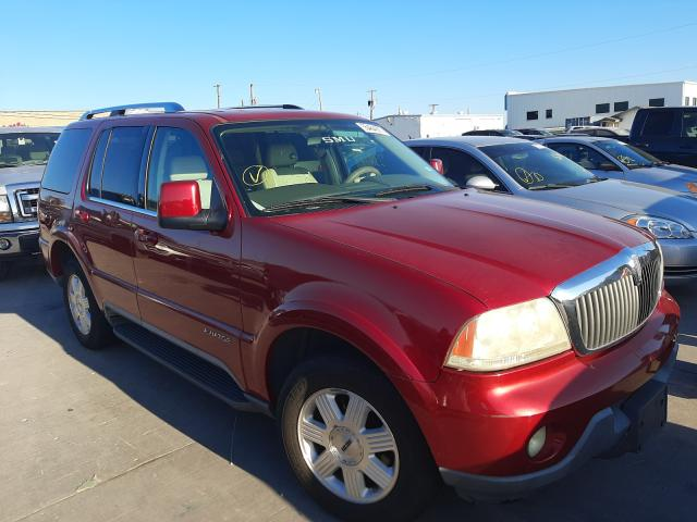 Salvage cars for sale from Copart Grand Prairie, TX: 2004 Lincoln Aviator
