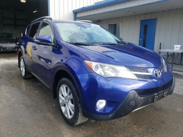 Salvage cars for sale from Copart Albany, NY: 2015 Toyota Rav4 Limited