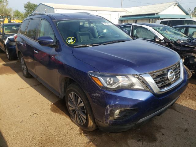 Vehiculos salvage en venta de Copart Pekin, IL: 2020 Nissan Pathfinder