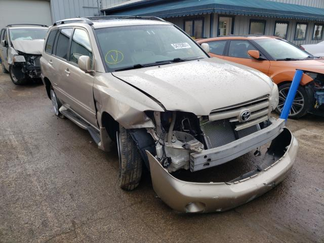 Salvage cars for sale from Copart Pekin, IL: 2007 Toyota Highlander