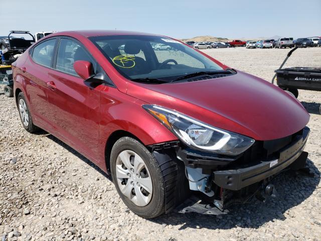 Купить 2016 Hyundai Elantra Se 1.8L