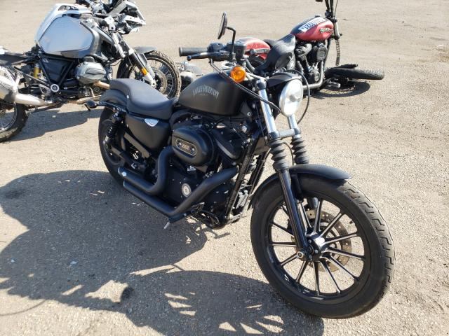 Salvage cars for sale from Copart Denver, CO: 2012 Harley-Davidson XL883 Iron