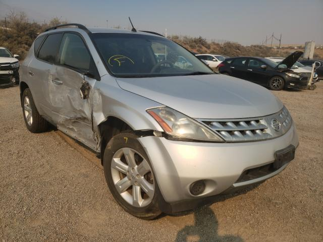 Salvage cars for sale from Copart Reno, NV: 2007 Nissan Murano SL