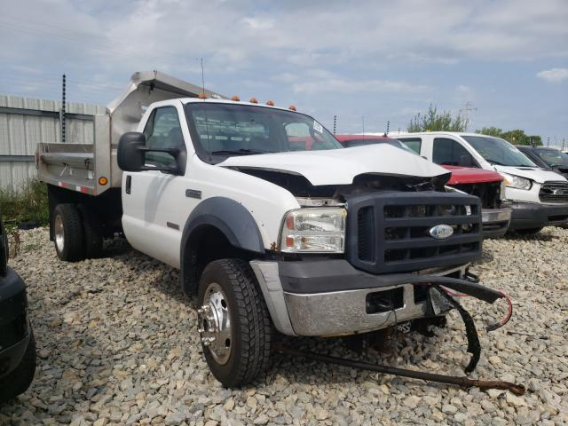 Salvage cars for sale from Copart Appleton, WI: 2007 Ford F550 Super